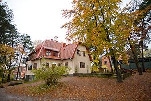 Lidingö Montessoriförskola Byggnad